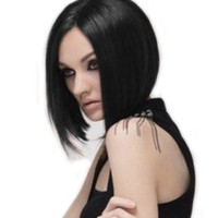 Sexy Girl's Brown/ Black BOB Wig (Model: Jf010411)