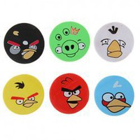 TB-9816 30PCS Round Angry Birds Erasers with 6 Colors A set Hot Sale At Wholesale Price - Gadgetsdealer.com