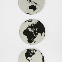 Urban Outfitters - Globe Mirror - Set Of 3