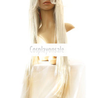 Black Butler Undertaker 100cm Cosplay Wig