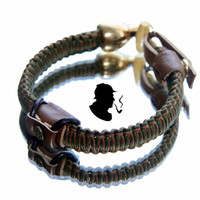 HOOKAH PIPE bracelet  Holmes4/ Smoking Pipes by dganin on Etsy