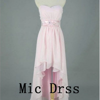 Sweetheart Sleeveless Hilo Chiffon sashes Appliues by MicDress