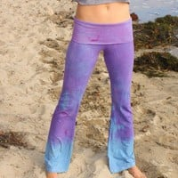 amethyst yoga pants