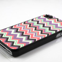 aztec tribal chevron zigzag pattern iPhone 4 case iPhone 4s case iPhone cases iPhone 4 cover personalized hard plastic iPhone case