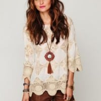 Free People Diamond Crochet Tunic at Free People Clothing Boutique