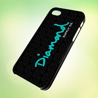 diamond supply co logo HP595 Design - Cover For iPhone 4, iPhone 4S, iPhone 5 -  Black, White or Clear Apple Case