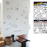 ATARI: ASTEROIDS RE-STIK WALL GRAPHICS