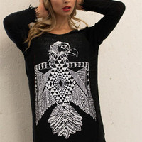 Lauren Moshi Vicky Thunderbird L/S Fringe Sweater Dress | Lauren Moshi Dress
