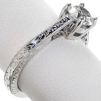 Design 2390 - Knox Jewelers - Minneapolis Minnesota - Filigree Engagement Rings