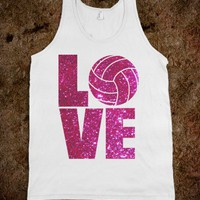 Love Volleyball - workout shirts