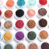 Eye Shadow Mineral Makeup Choose Your Own by MadisonStreetBeauty