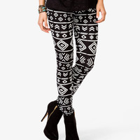 Tribal-Inspired Leggings