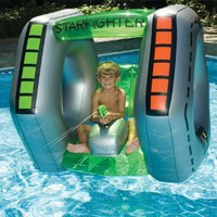 Amazon.com: Swimline Starfighter Super Squirter Inflatable Pool Toy: Patio, Lawn & Garden