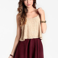 Daytime Fantasy Lace Tank - $29.00 : ThreadSence, Women's Indie & Bohemian Clothing, Dresses, & Accessories