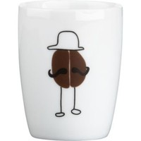 bean man espresso cup in dinnerware | CB2