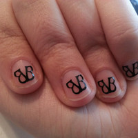 Black Veil Brides inspired logo Fingernail by stickitvinyl on Etsy