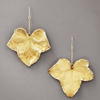 Aurelie Bidermann - Ivy Leaf Earrings - Bergdorf Goodman