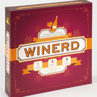 Winerd Board Game | Wine Tasting Board Game | fredflare.com
