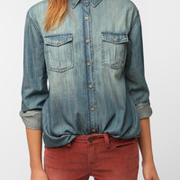 Urban Outfitters - Lark &amp; Wolff By Steven Alan Chambray Shirt