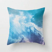 Nebula 1 Throw Pillow by ThoughtCloud | Society6