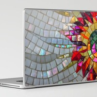 Mosaic laptop cover