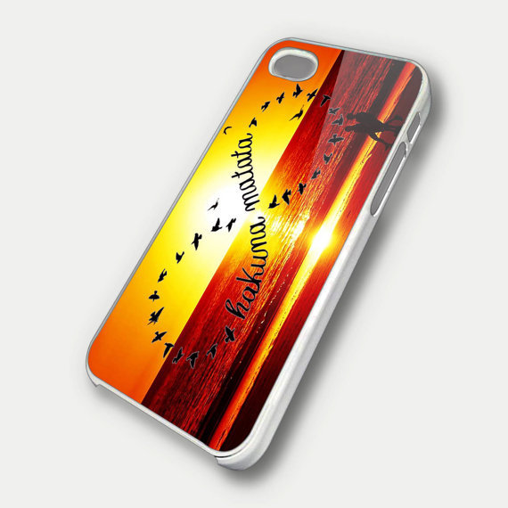 hakuna matatainfinity logo TM00- iPhone 5 Case - iPhone 4 / 4S Case