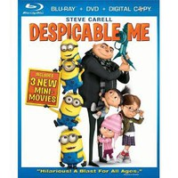 Despicable Me (Three-Disc Blu-ray/DVD Combo) (2010)