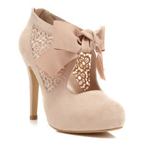 Sally Nude Town Shoe - Shoes