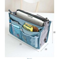 Women Travel Insert Handbag Organiser Purse Large liner Organizer Bag Amazing!