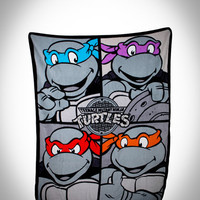 Teenage Mutant Ninja Turtles Fleece Blanket in Home & Dorm Pillows & Blankets