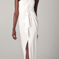 $288.00 BCBGMAXAZRIA Barbara One Shoulder Gown