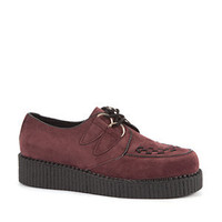 Deep Red Loiter Brothel Creepers