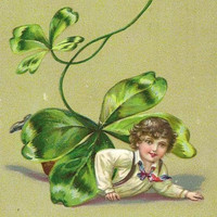 Top of the Morning Vintage Tuck St Patrick's Day Postcard