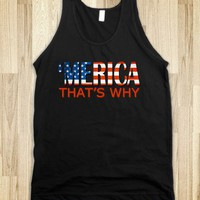 'Merica That's Why - USA USA - Tee Time Baby