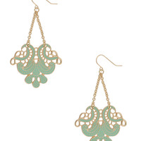 Filigree Drop Earrings | FOREVER21 - 1000034743