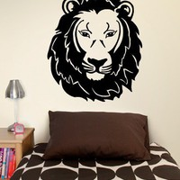 Lion Head Decal - Decals - Wall