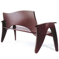 Barcelona Bench by Peter Danko of Persing Danko from Vivavi contemporary sustainable furniture and design services