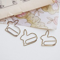 Cotton Tail Paper Clips