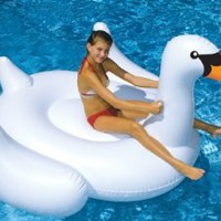 Amazon.com: International Leisure Giant Swan: Patio, Lawn & Garden