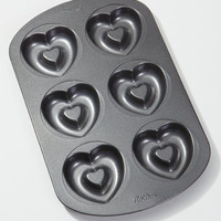 Heart Doughnut Pan | Donut Baking Pan | fredflare.com