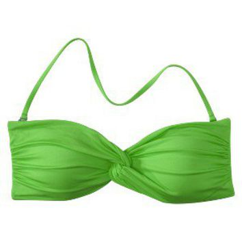 Mossimo® Women's Mix and Match Twist Bandeau Swim Top - Kelly Green