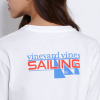 Women&#x27;s Tees: Long Sleeve Sailing Tee for Women  Vineyard Vines