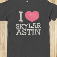 I Heart Skylar Astin (Fitted Tee) - Sin21 Designs