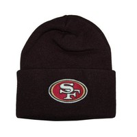 Amazon.com: San Francisco 49ers Classic Cuffed Beanie (Black): Everything Else