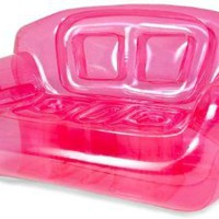 Amazon.com: Inflatable Couch Color: Pretty Pink: Home & Kitchen