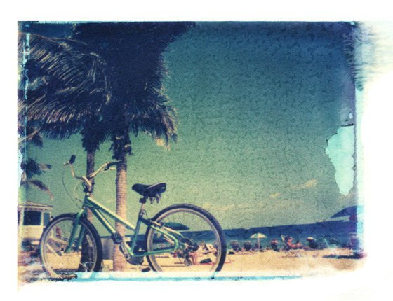 beach bicycle | She Hit Pause Studios
