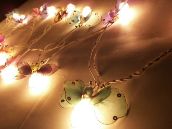 Firefly string light with 3 m. wire and adapter for room and party decoration