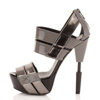 Ruthie Davis Women's Robotic Platform Sandal at MYHABIT