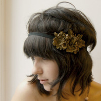 flower elastic headband by ModaMakovera