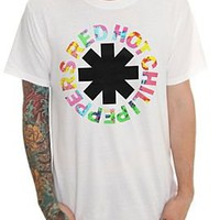 Red Hot Chili Peppers Psychedelic Logo T-Shirt - 915141